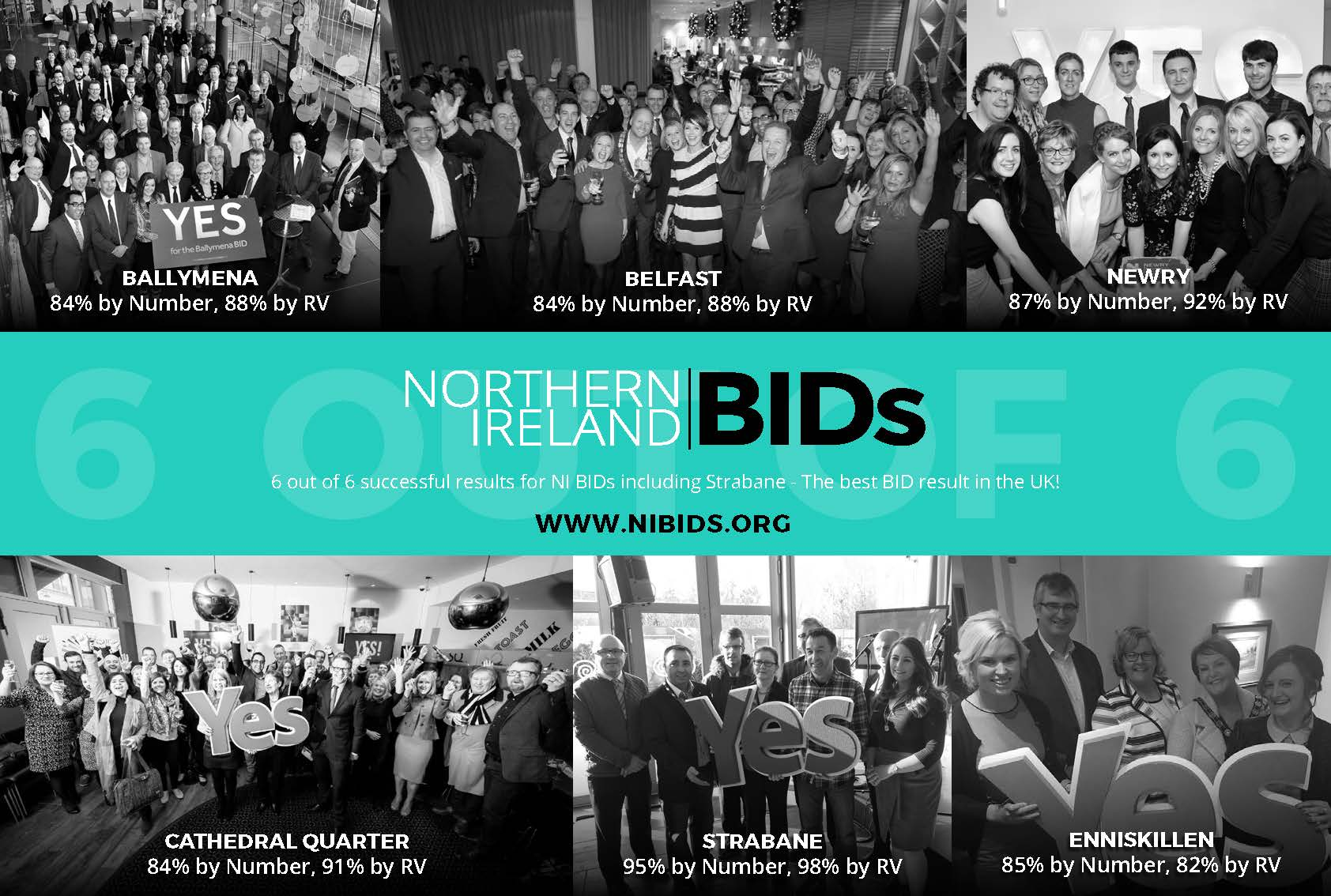 a 100% success rate for the NI BIDs academy