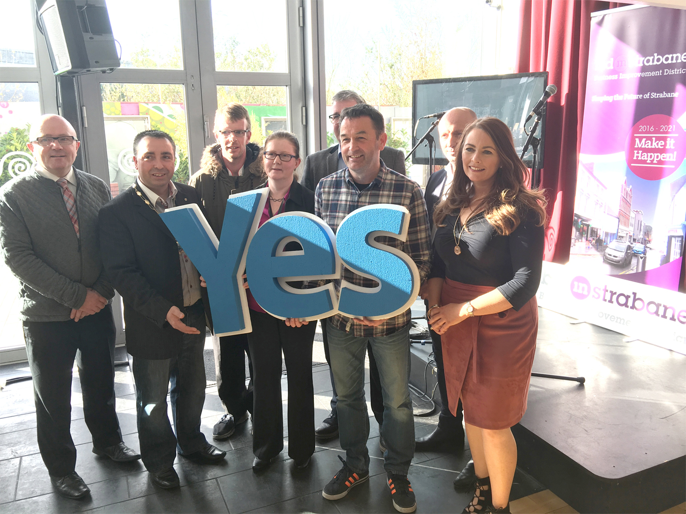 A Yes from Strabane